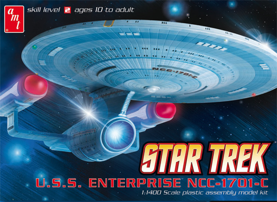Maquette star trek USS Enterprise